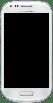 Explicação dos ícones - Samsung Galaxy S III Mini