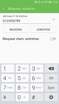 Como bloquear chamadas de um número específico - Samsung Galaxy On 7 - Passo 9