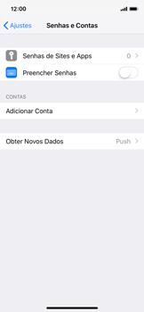 Como configurar seu celular para receber e enviar e-mails - Apple iPhone X - Passo 4