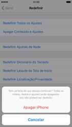 Como restaurar as configurações originais do seu aparelho - Apple iPhone 6 - Passo 7
