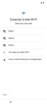Como configurar pela primeira vez - Motorola Edge - Passo 4