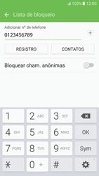 Como bloquear chamadas de um número específico - Samsung Galaxy S7 - Passo 10