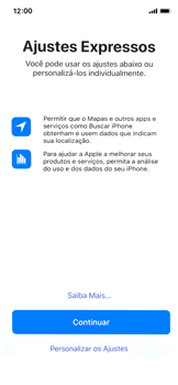 Como ativar seu aparelho - Apple iPhone X - Passo 19