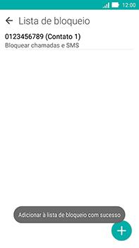 Como bloquear chamadas de um número específico - Asus ZenFone Go - Passo 11
