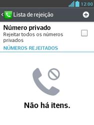 Como bloquear chamadas de um número específico - LG Optimus L3 II - Passo 7