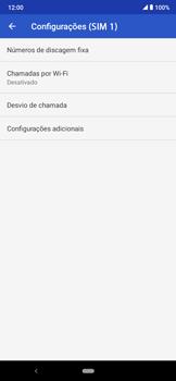 O celular não faz chamadas - Motorola Moto E6 Plus - Passo 17