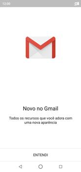 Como configurar seu celular para receber e enviar e-mails - Motorola One - Passo 4