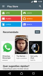 Como baixar aplicativos - Sony Xperia M4 Aqua - Passo 4