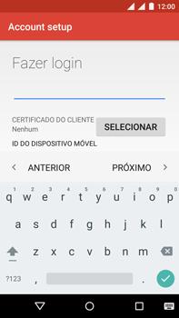 Como configurar seu celular para receber e enviar e-mails - Motorola Moto X Play - Passo 13