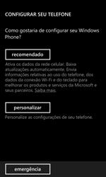 Como ativar seu aparelho - Nokia Lumia 920 - Passo 4