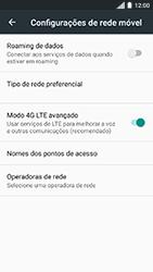 Como configurar a internet do seu aparelho (APN) - Motorola Moto C Plus - Passo 7