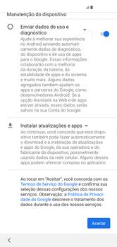 Como configurar pela primeira vez - Samsung Galaxy S10 - Passo 13