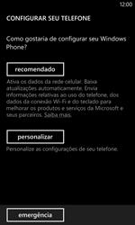 Como configurar pela primeira vez - Nokia Lumia 1020 - Passo 4