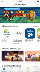 Como baixar aplicativos - Apple iPhone 7 - Passo 3