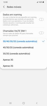 O celular não recebe chamadas - Samsung Galaxy S21 5G - Passo 8