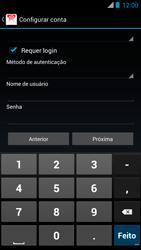 Como configurar seu celular para receber e enviar e-mails - Motorola RAZR MAXX - Passo 14