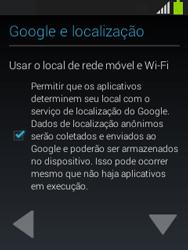 Como configurar pela primeira vez - Samsung Galaxy Pocket - Passo 9