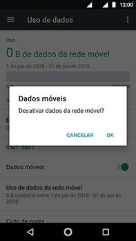 Como ativar e desativar uma rede de dados - Motorola Moto Z2 Play - Passo 5