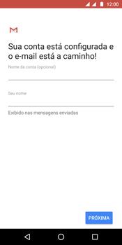 Como configurar seu celular para receber e enviar e-mails - Motorola Moto G6 Plus - Passo 11