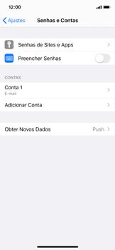Como configurar seu celular para receber e enviar e-mails - Apple iPhone X - Passo 25