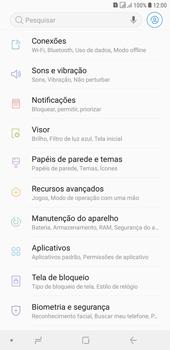 Como ativar e desativar o roaming de dados - Samsung Galaxy J4+ - Passo 3