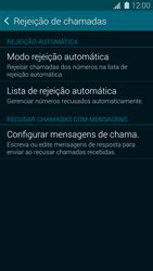 Como bloquear chamadas de um número específico - Samsung Galaxy S5 - Passo 8