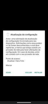 Como conectar à internet - Motorola Moto G8 Power - Passo 18