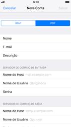 Como configurar seu celular para receber e enviar e-mails - Apple iPhone 8 - Passo 11