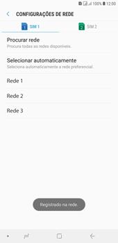 Como selecionar o tipo de rede adequada - Samsung Galaxy J4+ - Passo 11
