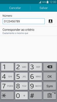 Como bloquear chamadas de um número específico - Samsung Galaxy Note - Passo 13