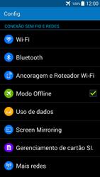 Como ativar e desativar o modo avião no seu aparelho - Samsung Galaxy Grand Prime - Passo 5