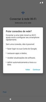 Como configurar pela primeira vez - Motorola Edge - Passo 5