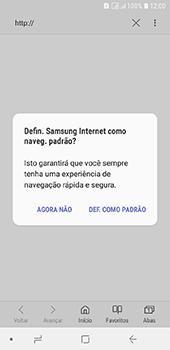 Como configurar a internet do seu aparelho (APN) - Samsung Galaxy J6 - Passo 21