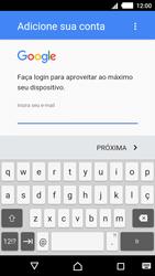 Como configurar seu celular para receber e enviar e-mails - Sony Xperia M4 Aqua - Passo 10