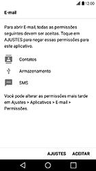 Como configurar seu celular para receber e enviar e-mails - LG X Power - Passo 11