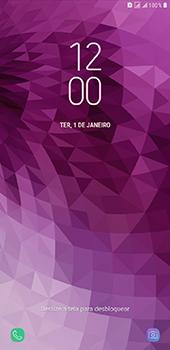 Como reiniciar o aparelho - Samsung Galaxy J8 - Passo 6