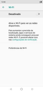 Como configurar uma rede Wi-Fi - Motorola One - Passo 5