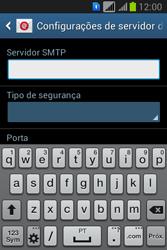 Como configurar seu celular para receber e enviar e-mails - Samsung Galaxy Young - Passo 12
