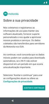 Como configurar pela primeira vez - Motorola Moto G7 Play - Passo 12