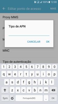 Como configurar a internet do seu aparelho (APN) - Samsung Galaxy On 7 - Passo 14