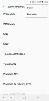 Como configurar a internet do seu aparelho (APN) - Samsung Galaxy J6 - Passo 15