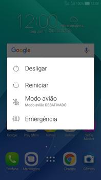 Como reiniciar o aparelho - Asus Zenfone Selfie - Passo 3