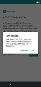 Como configurar pela primeira vez - Motorola Moto G7 Play - Passo 15