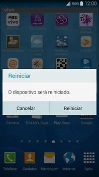 Como reiniciar o aparelho - Samsung Galaxy Note - Passo 4
