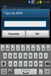 Como configurar a internet do seu aparelho (APN) - Samsung Galaxy Young - Passo 14