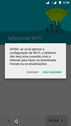 Como configurar pela primeira vez - Motorola Moto E (2ª Geração) - Passo 4