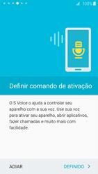 Como configurar pela primeira vez - Samsung Galaxy S6 - Passo 17