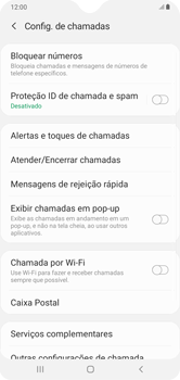 Como bloquear chamadas de um número específico - Samsung Galaxy A10 - Passo 7