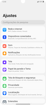 Como conectar à internet - LG Velvet 5G - Passo 4