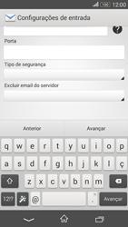 Como configurar seu celular para receber e enviar e-mails - Sony Xperia E4G - Passo 10
